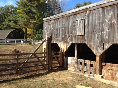 Fall sunshine at Sturbridge