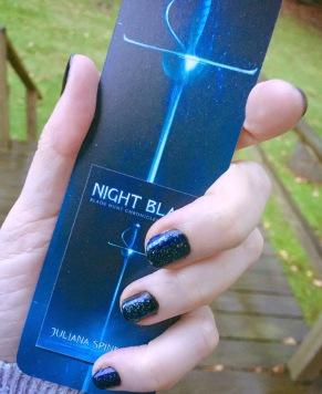 Night Blade nails...